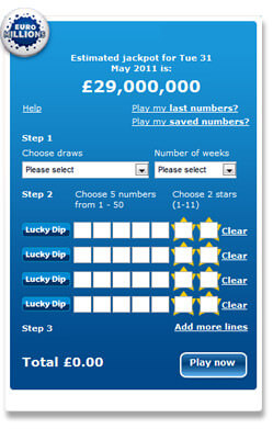 euromillions official website